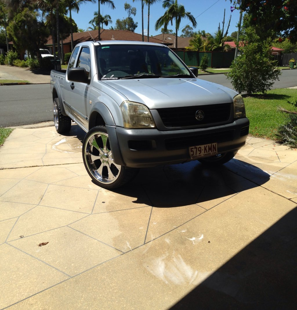 2004 Holden Rodeo LX RA