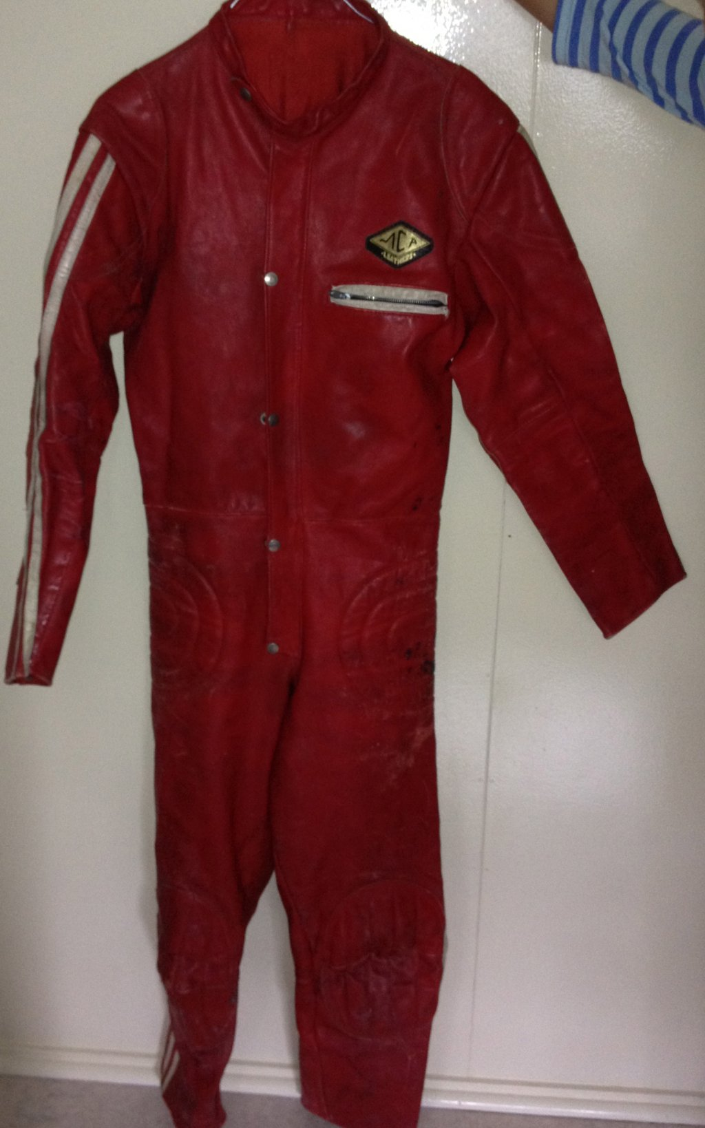 Leather Race SUIT $100 or Swap 4 Larger Size