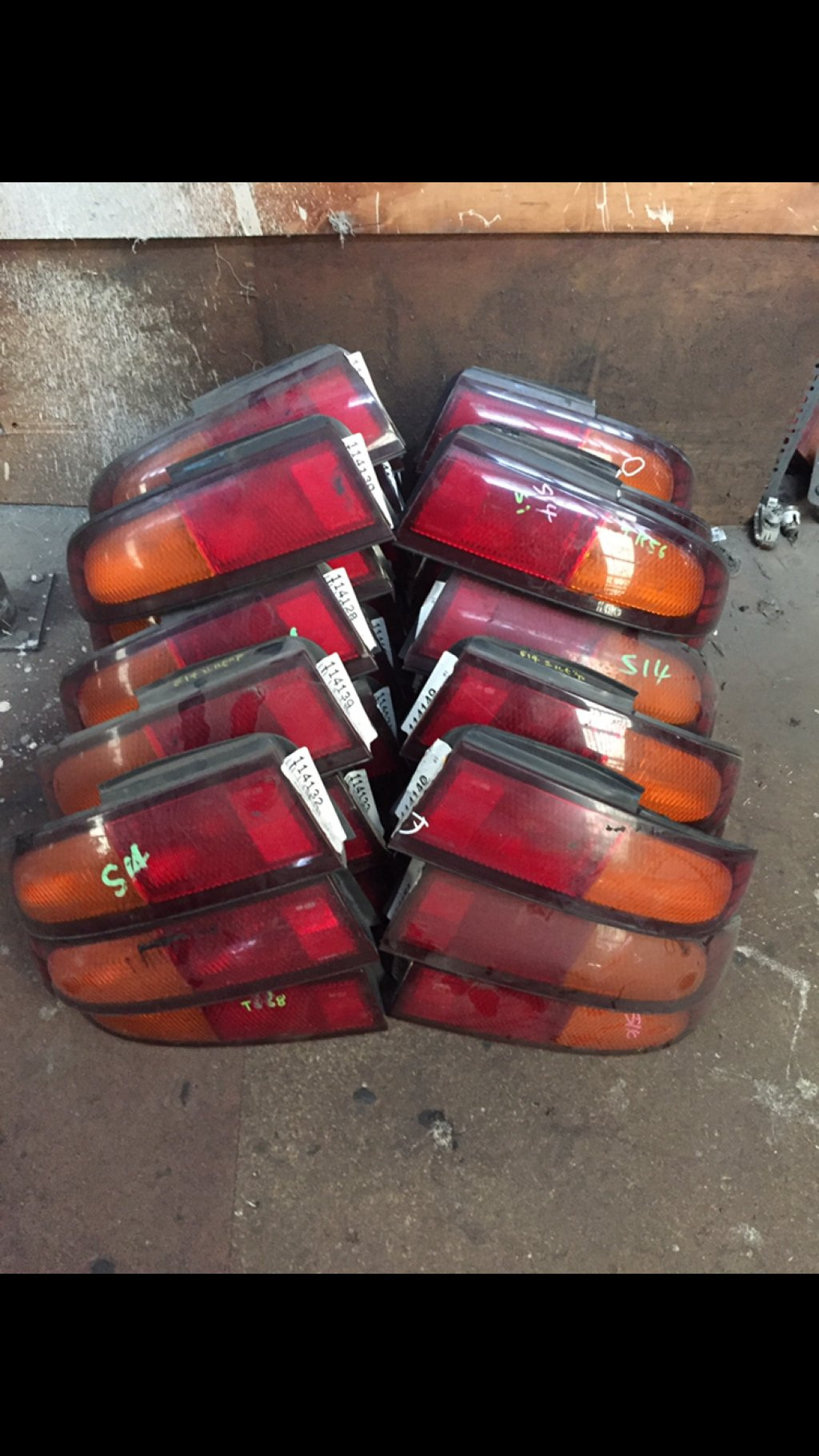 Clearing Out Series 1 S14 Tail Lights