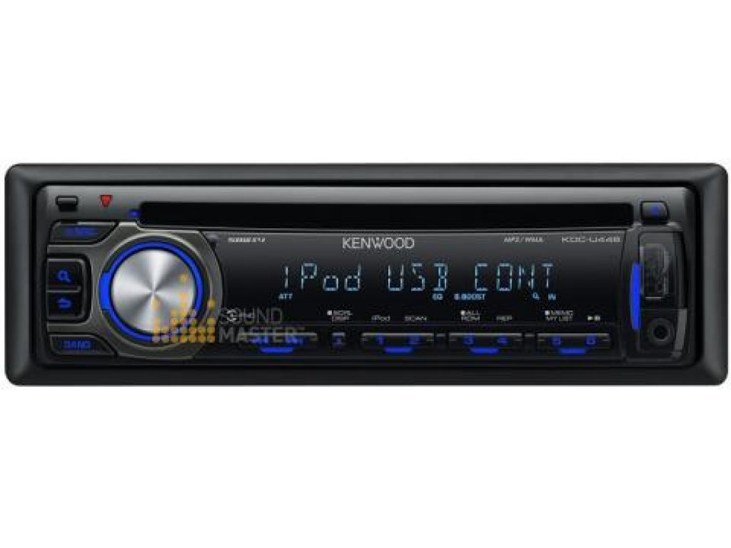 Kenwood KDC-U446 Car CD USB IPOD Player