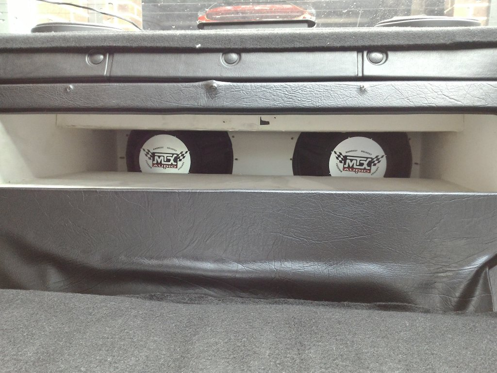 Nissan 200SX S15 Custom Ported Subwoofer Box MTX SUBS SONY & Pione