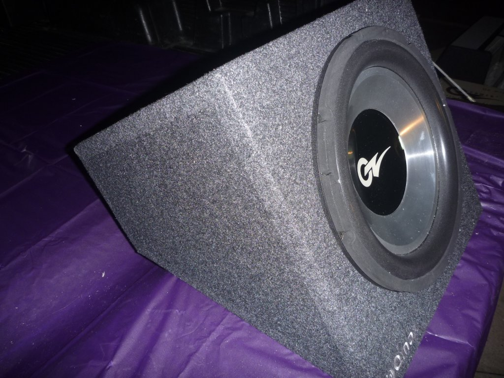 "OZ Audio 12"" VECTOR3 127DB Subwoofer In QMAX Enclosure Rrp$4"