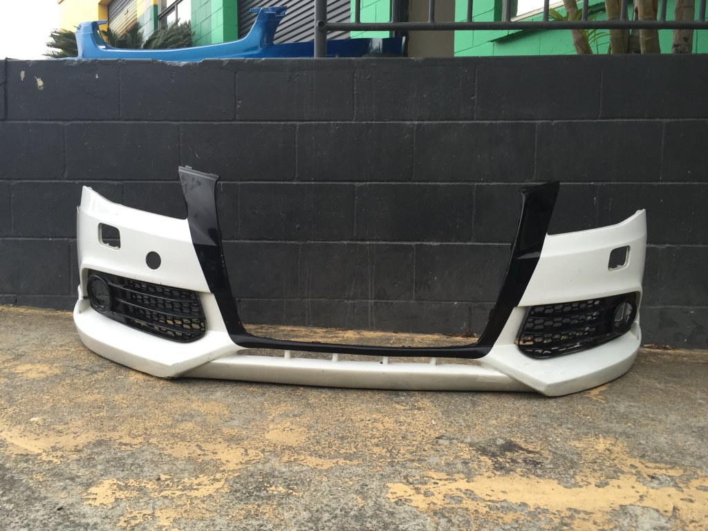 Audi ABT Front BAR + Spotlight Cover Inserts