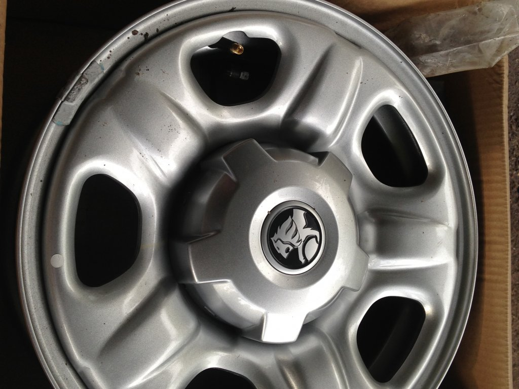 Holden Colorado 16X7 Standard Steel Rims 6 Stud Like New Rodeo