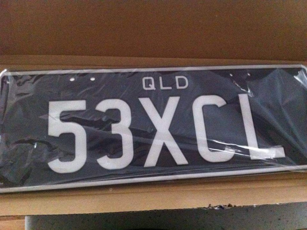 53XCL Number Plates
