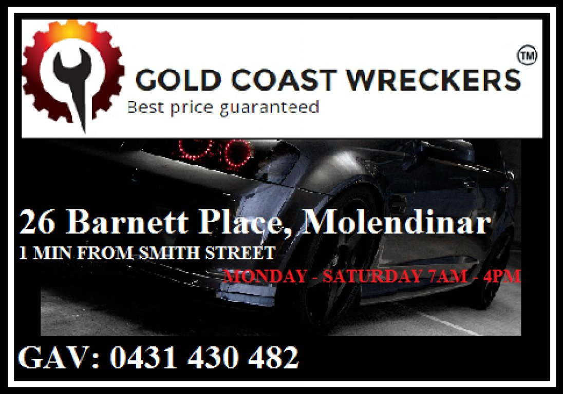 Gold Coast Wreckers- Cheapest Parts On The Coast