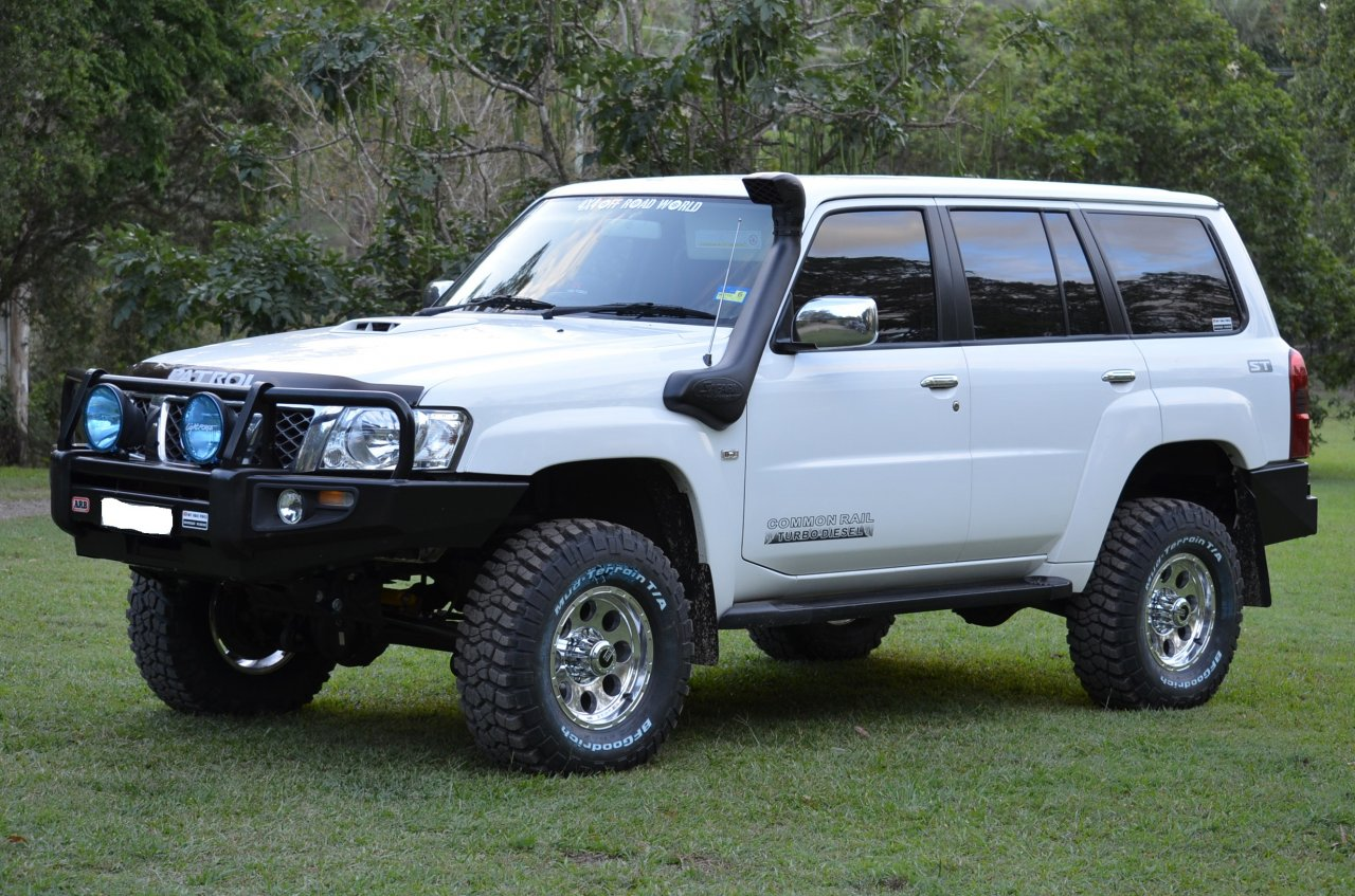 2008 nissan patrol st 4x4 boostcruising. Black Bedroom Furniture Sets. Home Design Ideas