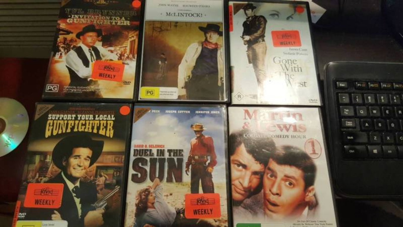 Selling My Collection of 21 DVD Movies