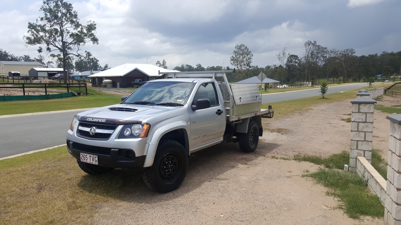 2009 Holden Colorado DX (4X4) RC MY09