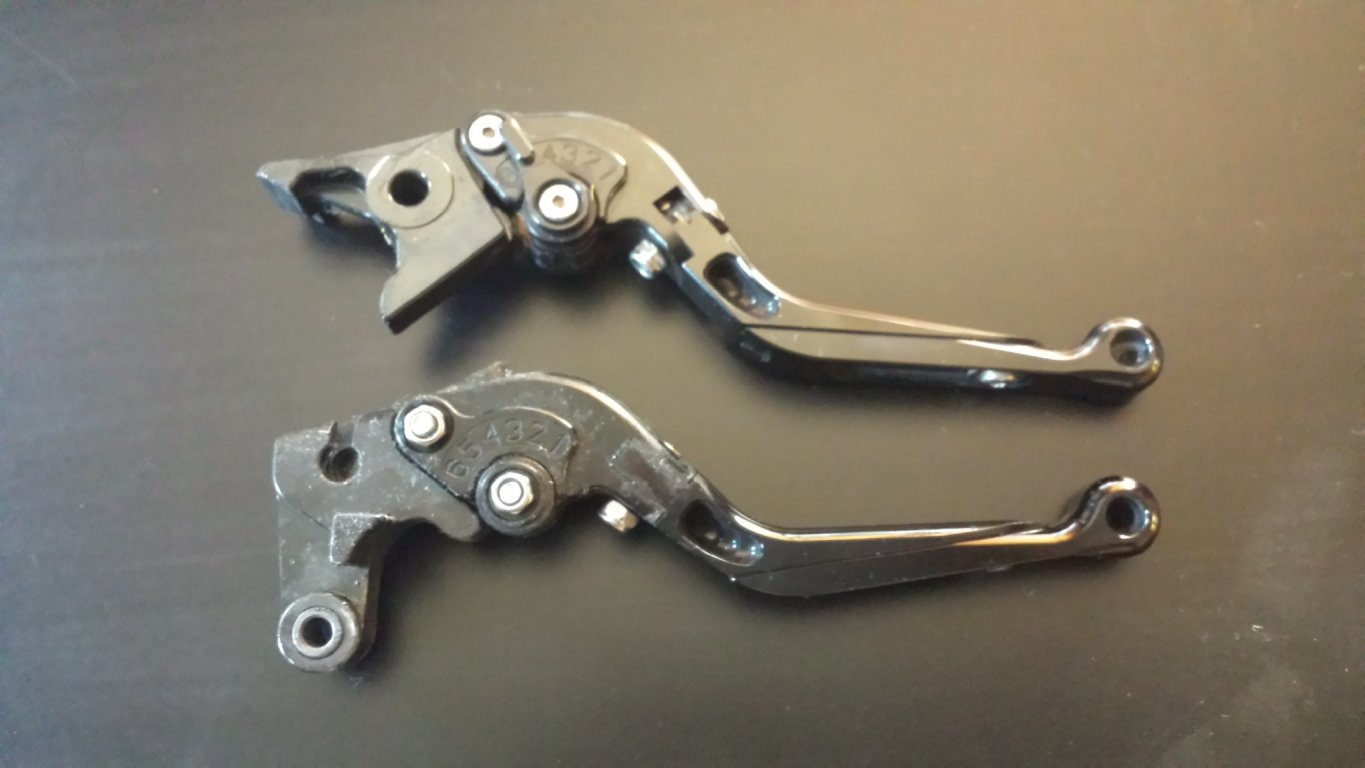 2001 R1 SD-R Short Levers