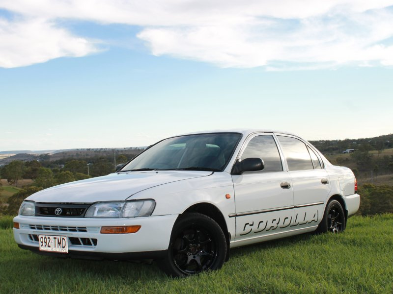 1995 toyota corolla for sale qld darling downs. Black Bedroom Furniture Sets. Home Design Ideas