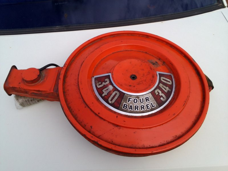 Plymouth Air Cleaner : Mopar plymouth aircleaner for sale sa adelaide