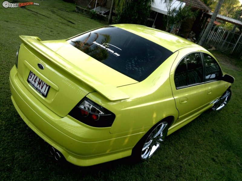 2003 Ford Falcon Ba Xr6 Boostcruising