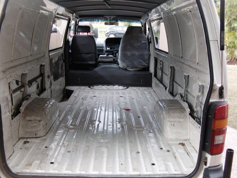 2000 Toyota Hiace Interior Fit Out Boostcruising