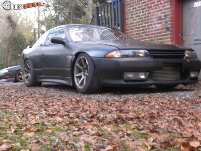 S14 With S13 Front End a R32 Front End on my S13