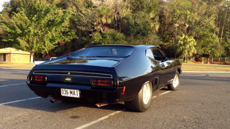 1975 ford falcon xb coupe for sale. Black Bedroom Furniture Sets. Home Design Ideas