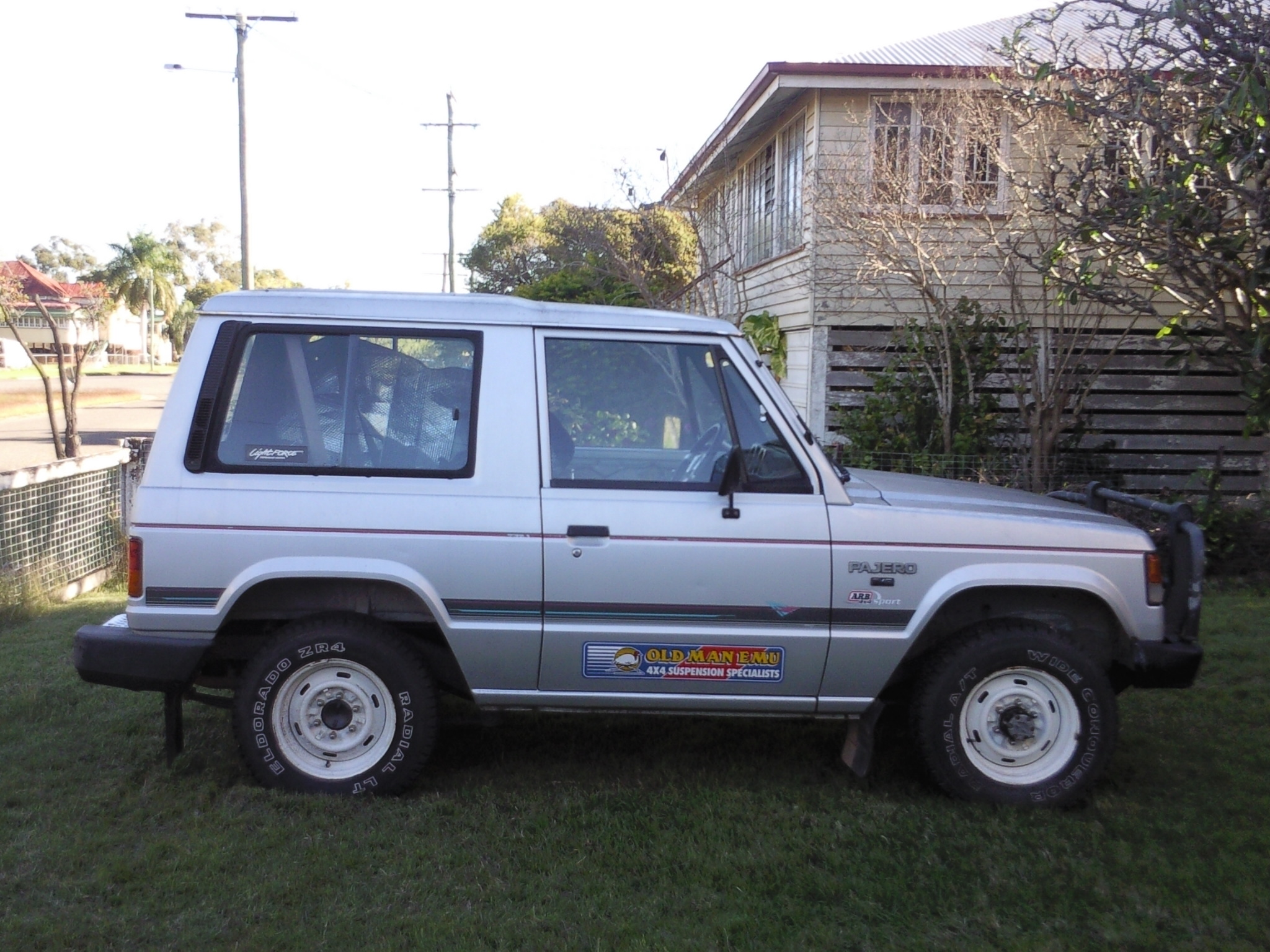 1989 mitsubishi pajero exe swb 4x4 nf boostcruising. Black Bedroom Furniture Sets. Home Design Ideas