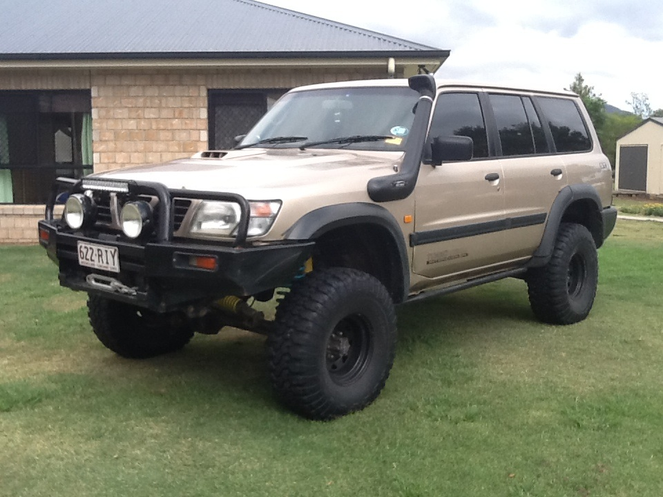 1998 nissan patrol st 4x4 gu boostcruising. Black Bedroom Furniture Sets. Home Design Ideas