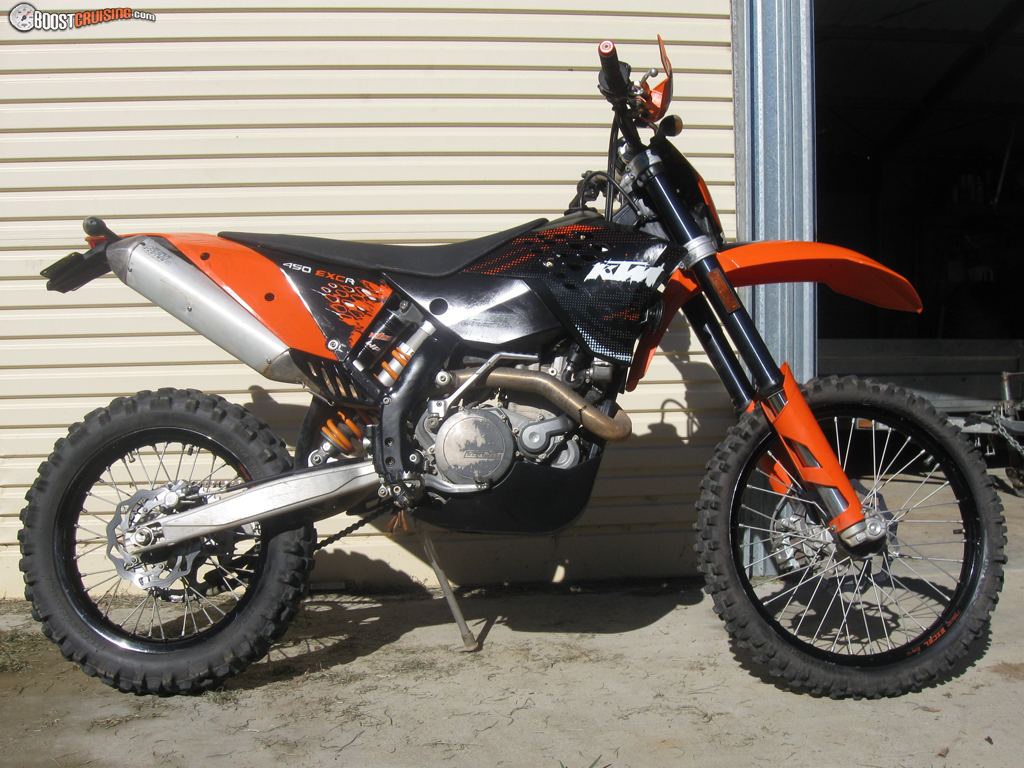 2008 ktm 450 exc r boostcruising. Black Bedroom Furniture Sets. Home Design Ideas