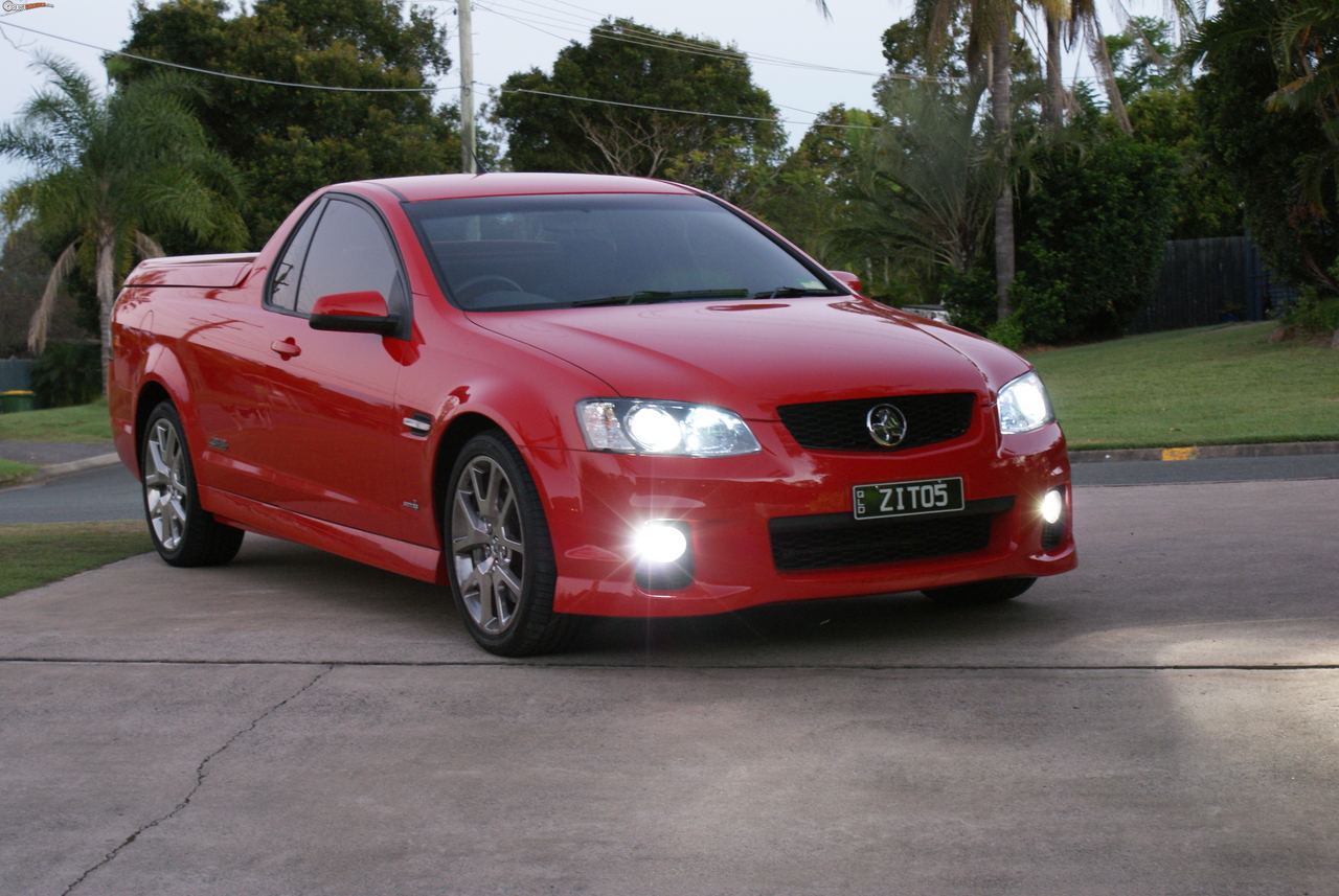 2011 Holden Ute Ve Ssv Redline Boostcruising