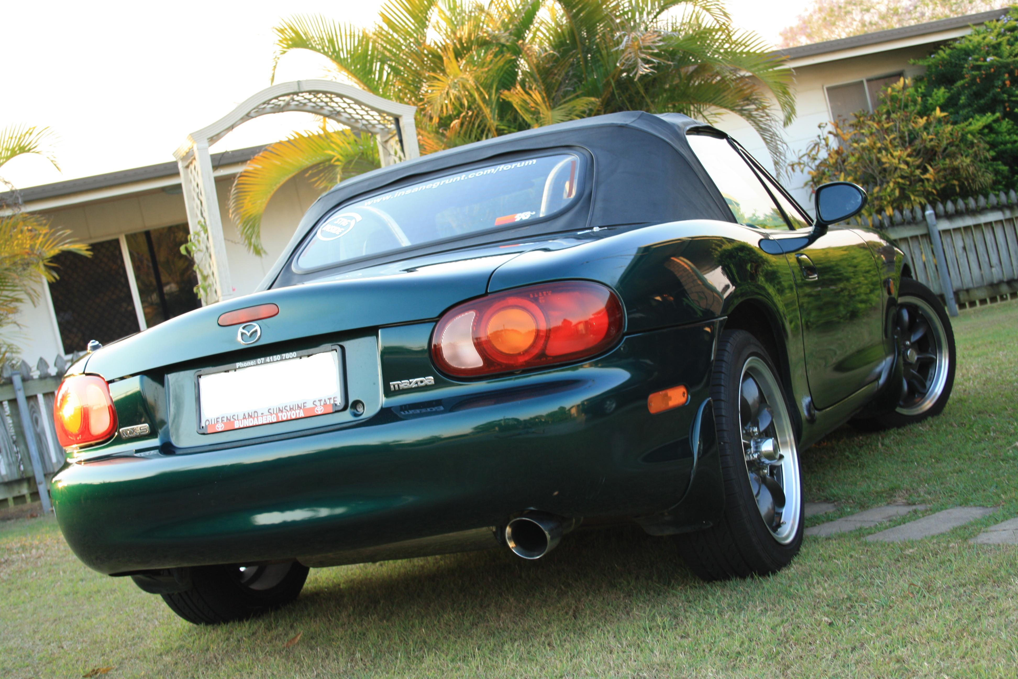 1999 mazda mx 5 nb soft top boostcruising. Black Bedroom Furniture Sets. Home Design Ideas