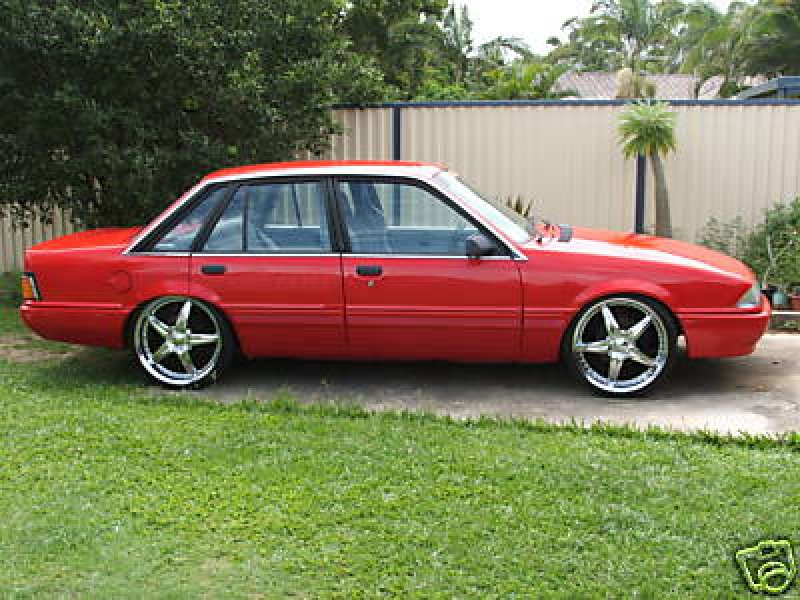 Holden Fuel Injected V8 Twin Turbo Vl Commodore
