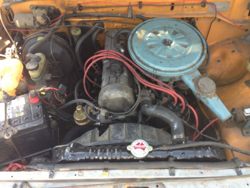 Easy Engine Swap For A 1982 Datsun 720 Dual Can