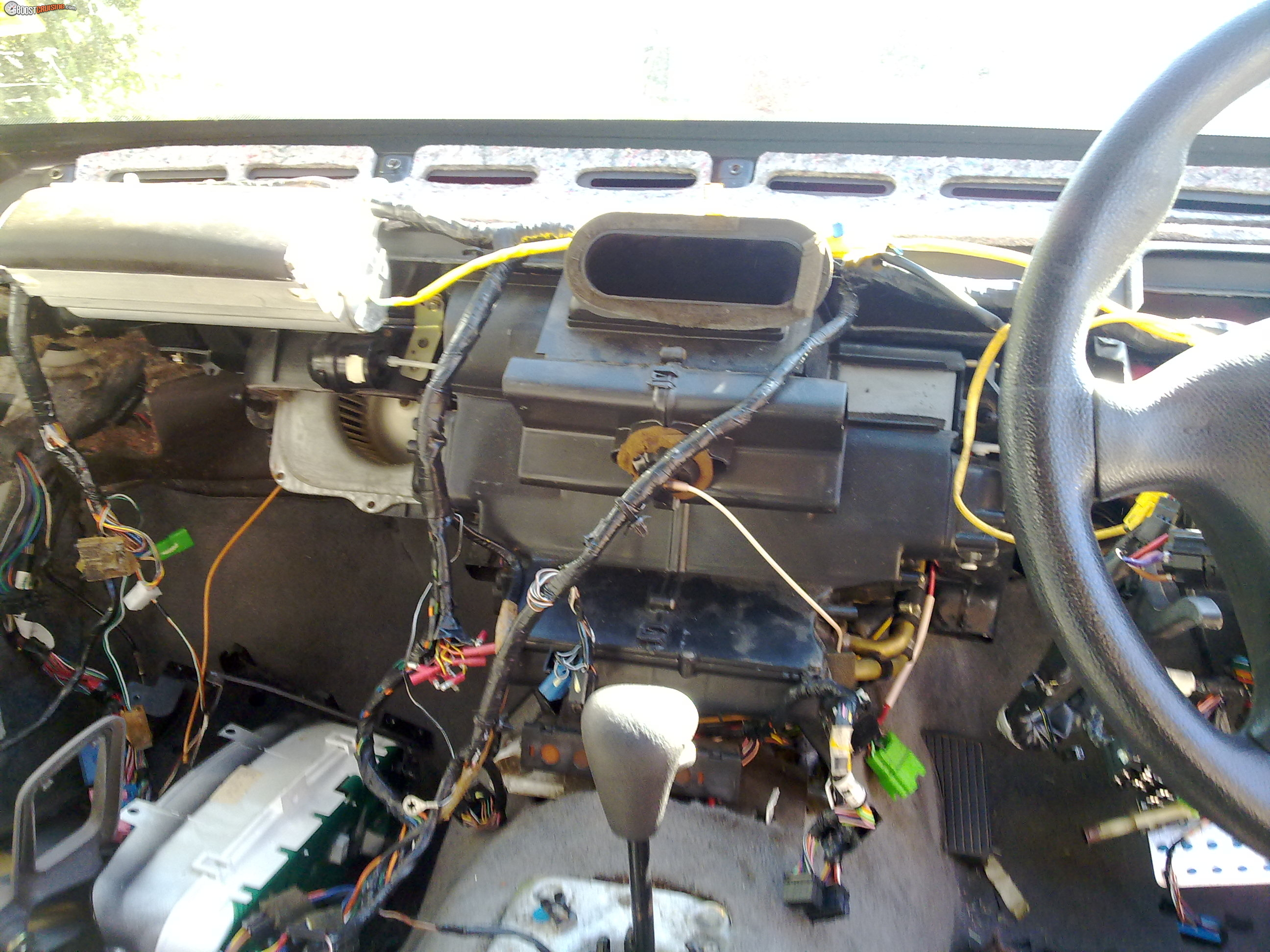 Vs Commodore Wiring Harness Boostcruising Automotive Loom Photo Of Their Completely Installed Without Any Dash Or Trim Hiding It Id Love To See The Pictures I Have Attached A Where Im Up