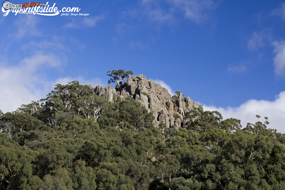 how to get to hanging rock vic