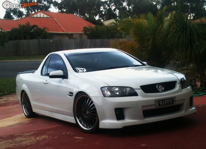 2009 Holden Ute Ve Sv6 Boostcruising
