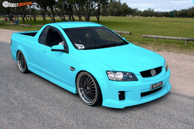 2009 Holden Ute Sv6 Commodore Ute Boostcruising