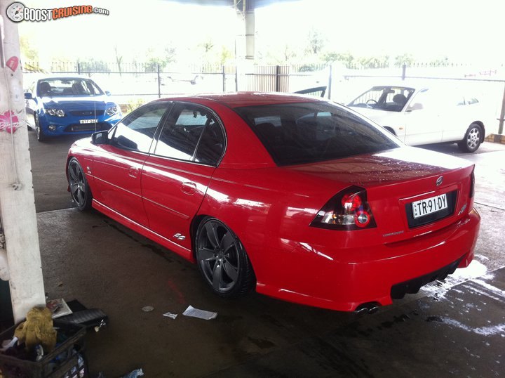 2004 Holden Commodore Vy Ss Boostcruising
