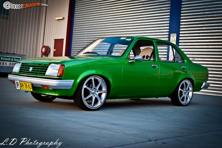 1983 Holden Gemini Tg Boostcruising