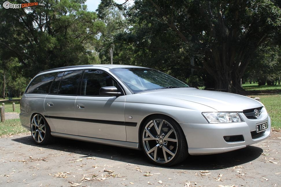 2004 Holden Commodore Vz Boostcruising